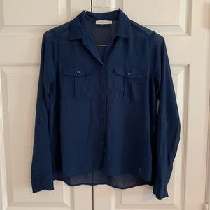 Abercrombie & Fitch Navy Blouse
